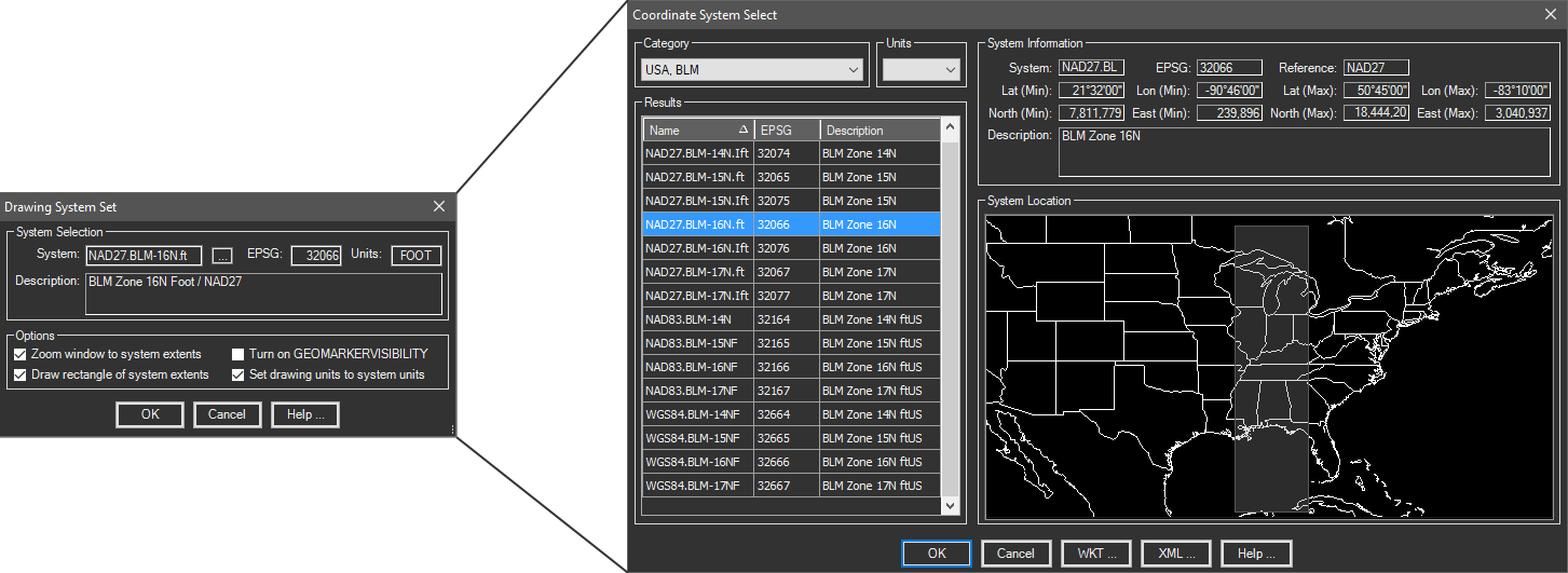 Extend the GeoLocation capabilities of AutoCAD, BricsCAD